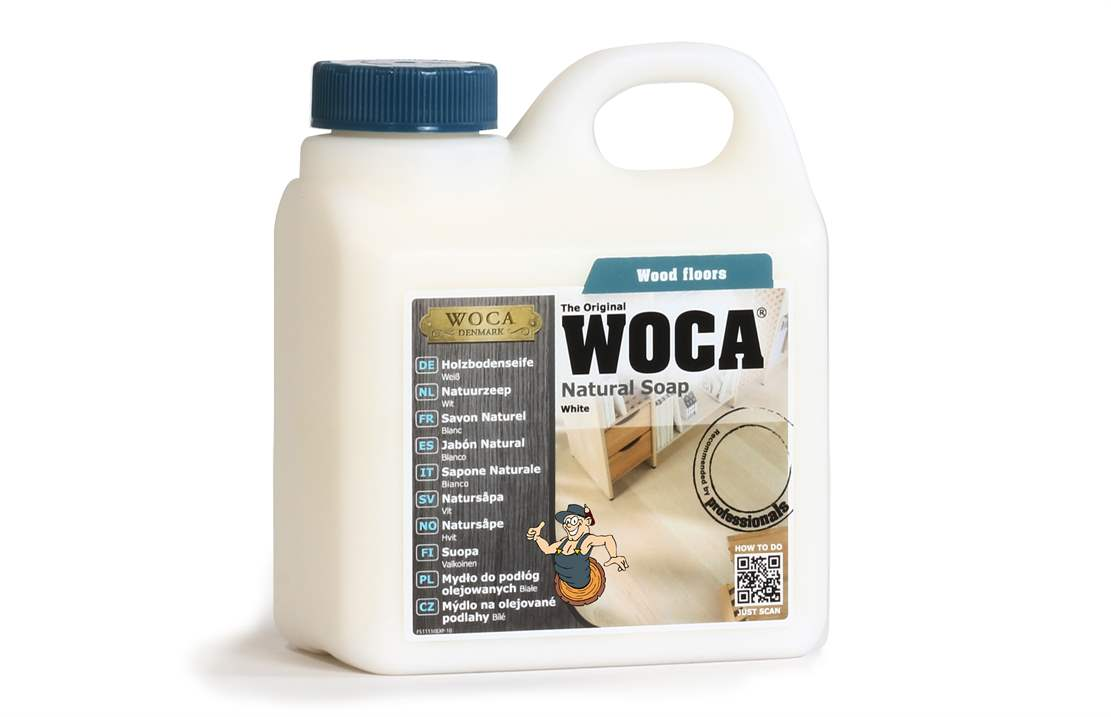 Woca Holzbodenseife weiss